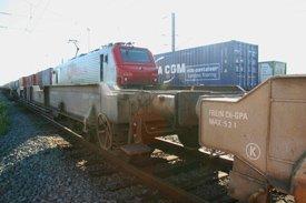 train sur le site Delta 3