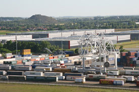 Container terminal and west logistics area - hub Delta 3 Dourges Lille