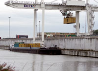 warehouse Delta 3 sea ports